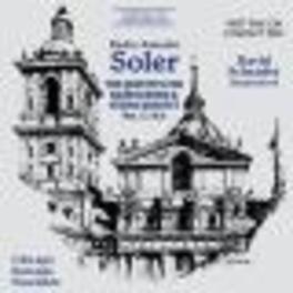 QUINTETS FOR HARPSICHORD CHICAGO BAROQUE ENSEMBLE A. SOLER, CD