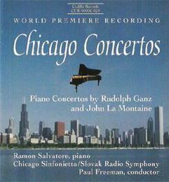 PIANO CONCERTOS CHICAGO SINFONIETTA GANZ/LAMONTAINE, CD