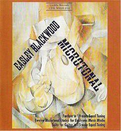MICROTONAL COMP. BLACKWOOD BLACKWOOD, CD
