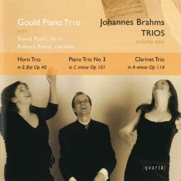 TRIOS VOLUME TWO GOULD PIANO TRIO JOHANNES BRAHMS, CD