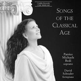 SONGS OF THE CLASSICAL AG B. MICHAELS, CD