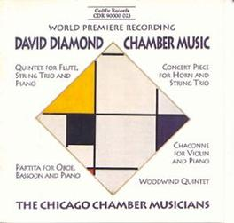 CHAMBER MUSIC CHICAGO CHAMBER MUSICIANS DAVID DIAMOND, CD