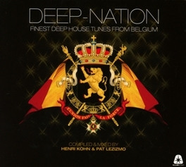 DEEP NATION FINEST DEEP HOUSE TUNES FROM BELGIUM V/A, CD