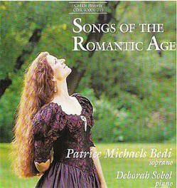 SONGS OF THE ROMANTIC AGE PATRICE BEDI J.S. BACH, CD