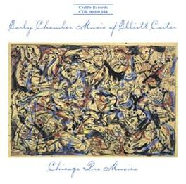 EARLY CHAMBER MUSIC CHICAGO PRO MUSICA E. CARTER, CD