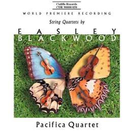 STRING QUARTETS PACIFICA QUARTET E. BLACKWOOD, CD