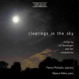 SONGS-CLEARING THE SKY W/MICHAELS, ROLLINS FAURE/BOULANGER/RAVEL, CD