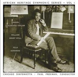 AFRICAN HERITAGE SYMPHONI CHICAGO SINFONIETTA COLERIDGE-TAYLOR/STILL, CD