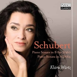 SONATES POUR PIANO.. .. D960/D664//KLARA WURTZ Würtz,Klara;Schubert:Sonatas, F. SCHUBERT, CD