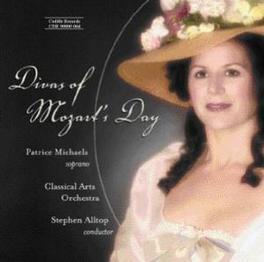 DIVAS OF MOZART'S DAY CLASSICAL ARTS ORCHESTRA CAVALIERI/STORACE/VILLENE, CD