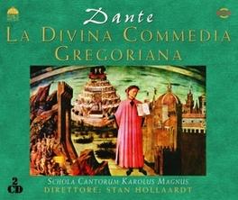 LA DIVINA COMMEDIA.. ...GREGORIANA Audio CD, SCHOLA CANTORUM KAROLUS M, CD