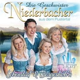 LEBENSLUST & BERGESHOEH'N GESCHWISTER NIEDERBACHER, CD
