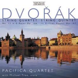 STRING QUARTET NO.13 PACIFIC QUARTET A. DVORAK, CD