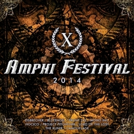 AMPHI FESTIVAL 2014 W/BLUTENGEL/EISBRECHER/FRONT 242/KLINIK/DIE KRUPPS/AO V/A, CD