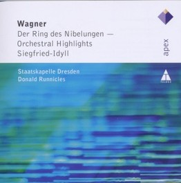 RING -HIGHLIGHTS- DONALD RUNNICLES R. WAGNER, CD