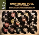 NORTHERN SOUL THE EARLY.. .. YEARS,COMPREHENSIVE COLLECTION OF OVER 100 EARLY