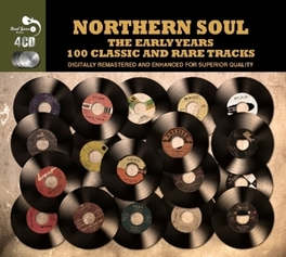 NORTHERN SOUL THE EARLY.. .. YEARS,COMPREHENSIVE COLLECTION OF OVER 100 EARLY V/A, CD