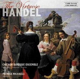 VIRTUOSO HANDEL CHICAGO BAROQUE ORCHESTRA G.F. HANDEL, CD