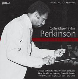 A CELEBRATION WORKS BY PERKINSON CHICAGO SINFONIETTA, CD