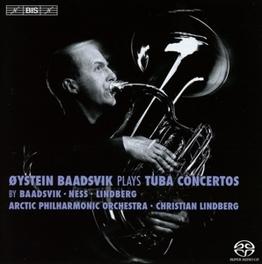 PLAYS TUBA CONCERTOS ARCTIC P.O./CHRISTIAN LINDBERG AYSTEIN BAADSVIK, CD