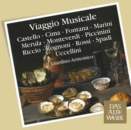 VIAGGIO MUSICALE IL GIARDINO ARMONICO, CD