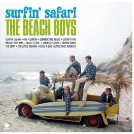 SURFIN' SAFARI -HQ- PLUS 1 BONUS TRACK - INCL. MP3 DOWNLOAD BEACH BOYS, Vinyl LP