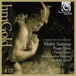 VIOLIN SONATES/PIANO TRIO SEPEC/STAIER/QUEYRAS L. VAN BEETHOVEN, CD
