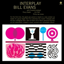 INTERPLAY -HQ- PLUS 2 BONUS TRACKS - INCL. MP3 DOWNLOAD BILL EVANS, Vinyl LP