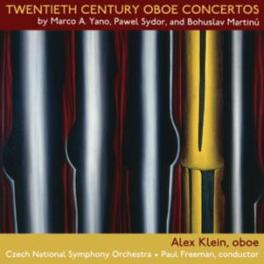 20TH CENTURY OBOE CONCERT WORKS BY MARTINU/YANO/SYDOR ALEX KLEIN, CD