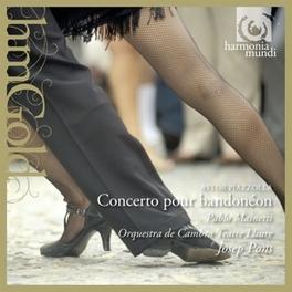 CONCERTO POUR BANDONEON ORQUESTRA DE CAMBRA TEATRE ILLIURE A. PIAZZOLLA, CD