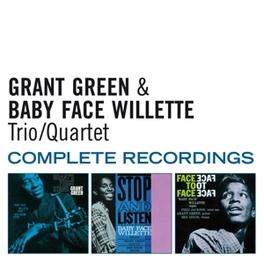 TRIO/QUARTET COMPLETE.. .. RECORDINGS - 3 ON 2CD - PLUS 1 BONUS TRACK GREEN, GRANT & BABY FACE, CD