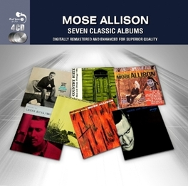7 CLASSIC ALBUMS -DIGI- 7 CLASSIC ALBUMS IN A 4CD DELUXE DIGIPACK MOSE ALLISON, CD