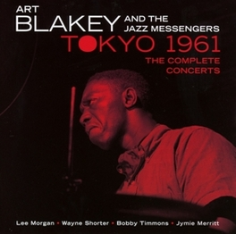 IN TOKYO 1961 - THE.. .. COMPLETE CONCERTS BLAKEY, ART & THE JAZZ ME, CD