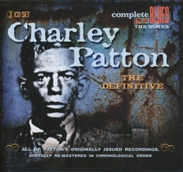DEFINITIVE -BOX- Audio CD, CHARLEY PATTON, CD