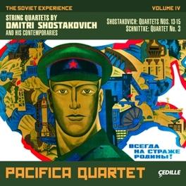 SOVIET EXPERIENCE V.4:.. ..STRING QUARTETS // ALFRED SCHNITTKE D. SHOSTAKOVICH, CD
