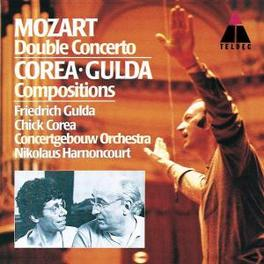 CONCERTO FOR TWO PIANOS GULDA/CO AMSTERDAM/HARNONCOURT MOZART/COREA/GULDA, CD