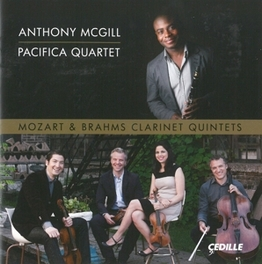 CLARINET QUINTETS ANTHONY MCGILL MOZART/BRAHMS, CD