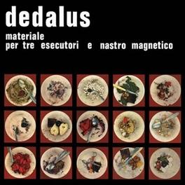 MATERIALE PER TRE.. .. ESECUTORI E NASTRO MAGNETICO DEDALUS, LP