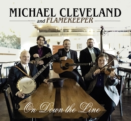 ON DOWN THE LINE MICHAEL CLEVELAND, CD