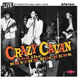 LIVE AT PICKETTS LOCK 1.. .. & 2, 2 X 10' VINYL CRAZY CAVAN, Vinyl LP