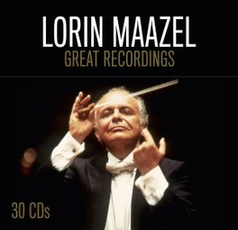 GREAT RECORDINGS -LTD- WORKS BY BEETHOVEN/SIBELIUS/TSCHAIKOWSKY/DEBUSSY/RAVEL LORIN MAAZEL, CD
