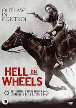 Hell on wheels - Seizoen 3, (DVD) BILINGUAL // W/ ANSON MOUNT
