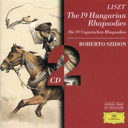 19 HUNGARIAN RHAPSODIES SZIDON Audio CD, F. LISZT, CD