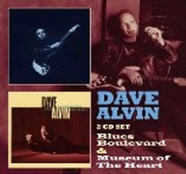 BLUES BOULEVARD/MUSEUM.. .. OF THE HEART DAVE ALVIN, CD