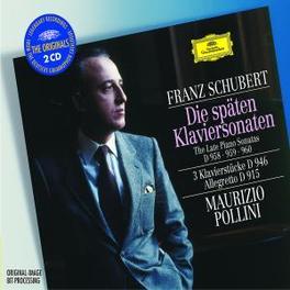 LATE PIANO SONATAS W/MAURIZIO POLLINI Audio CD, F. SCHUBERT, CD
