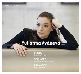 WORKS FOR PIANO WORKS BY CHOPIN/SCHUBERT/PROKOFIEV YULIANNA AVDEEVA, CD