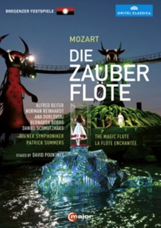 DIE ZAUBERFLOTE W.A. MOZART, DVDNL