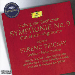 SYMPHONY NO.9 BERLIN PHIL.ORCHESTRA/FRICSAY Audio CD, L. VAN BEETHOVEN, CD