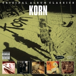 ORIGINAL ALBUM CLASSICS 5CD Korn, CD