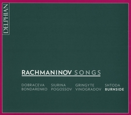 SONGS BONDARENKO/POGOSSOV/VINOGRADOV/BURNSIDE S. RACHMANINOV, CD